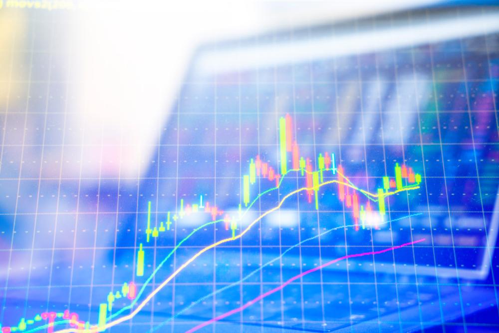 computer trading chart
