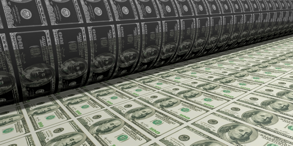 money printing press